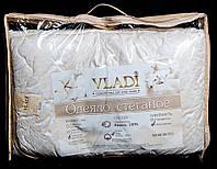 Стеганое облегченное одеяло Vladi 100% шерсть Бязь (170х210)