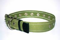 CoLLar ошейник для собак,брезент,безразмерный ( длина - 53см, диаметр - 25мм) (6755)