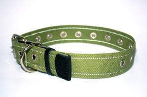 CoLLar ошейник для собак,брезент,безразмерный ( длина - 41см, диаметр - 20мм) (6754)