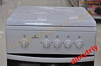 Газовая плита Greta 1470-00/16 белая с крышкой