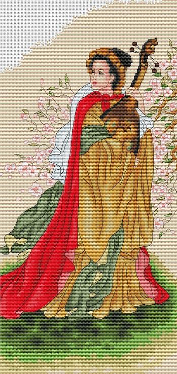 B229 Гармония. Набор для вышивки крестом крестом Luca-S