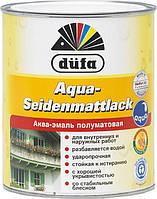 Краска акриловая для дерева Dufa Aqua-Seidenmattlack 2,5 л  шелковисто-матовая