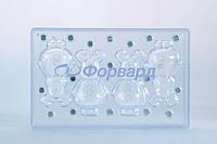 """Форма для шоколада """"северный олень ребенок"""" Martellato 20-C1002 (46x45 мм, 68 г)"""
