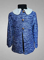 Детский кардиган, жакет или пиджак, вязка, с воротником
