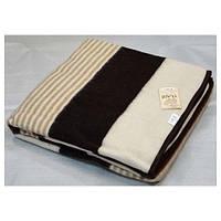 Шерстяное одеяло Vladi Полоса 01 (140х205)