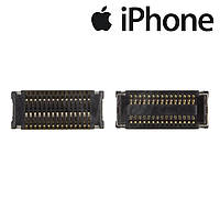 Коннектор тачскрина для Apple iPhone 4S, оригинал