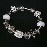 """Женский серебряный браслет Pandora (Пандора) """"Песня ангела"""""""