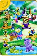 Развивающий коврик 2969 Веселый зоопарк музыкальный