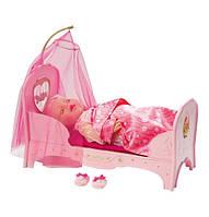 Кроватка куклы Беби Борн интерактивная Сладкие сны принцессы Baby Born Zapf Creation, фото 1