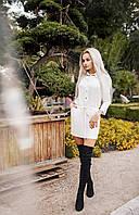 Стильные платья-рубашки   Цвет чёрный и молочный