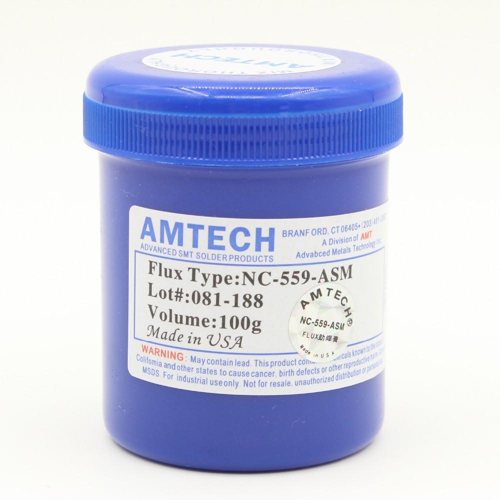 NC-559-ASM паяльна паста припой флюс 100 г.