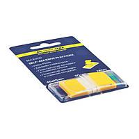 Стикер-закладка BUROMAX 45*25мм 2309-08 желтые