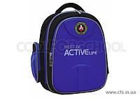 """Рюкзак подростковый школьный EVA фасад 15"""", """"Active Life"""", синий, 733, CF85692"""