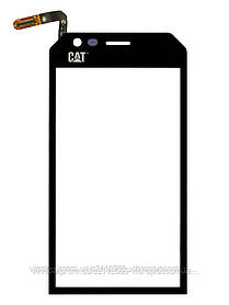 Тачскрин (сенсор) Caterpillar CAT S30 Dual Sim, black (чёрный)