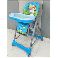 Стульчик детский для кормления RT-002N-8 голубой ***