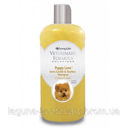 Veterinary Formula Puppy Love Shampoo  шампунь д/щенков от 6 недель, без слез, без сульфатов 503мл, фото 2