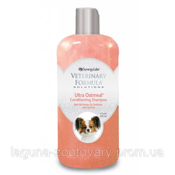 Veterinary Formula Ultra Moisturizing Shampoo ВЕТЕРИНАРНАЯ ФОРМУЛА УЛЬТРА УВЛАЖНЕНИЕ ШАМПУНЬ для собак и кошек, с овсяной мукой, протеинами шелка,