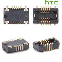 Коннектор тачскрина для HTC T5555 HD Mini, оригинал