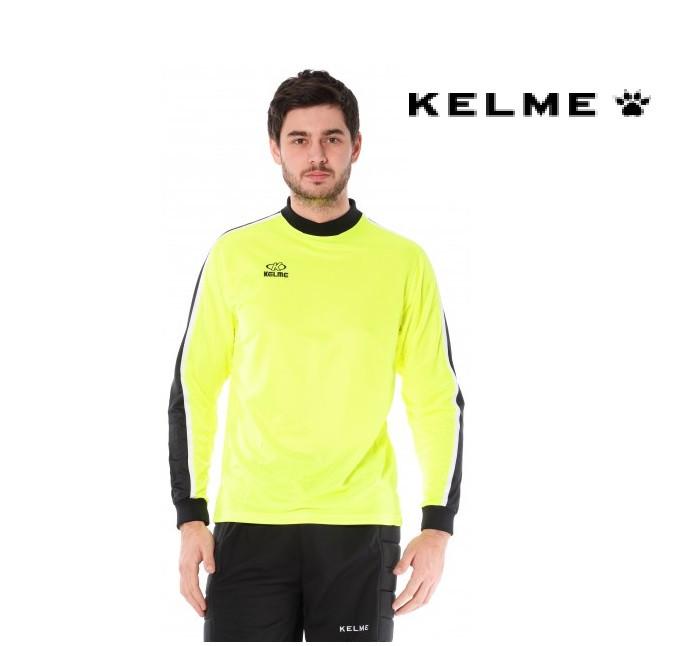 Вратарская футболка Kelme BRAVO Lime Goalkeeper Jersey