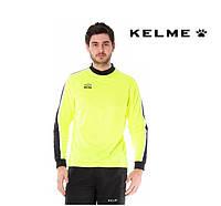 Вратарская футболка Kelme BRAVO Lime Goalkeeper Jersey, фото 1