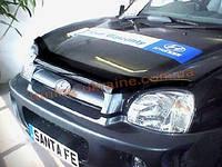 Дефлекторы капота Sim для Hyundai Santa Fe 2000-06