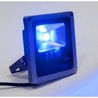 Светодиодный прожектор LED 10Вт , IP66,синий