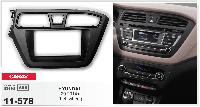 Рамка переходная Carav 11-578 Hyundai i20 2014+ Left Wheel