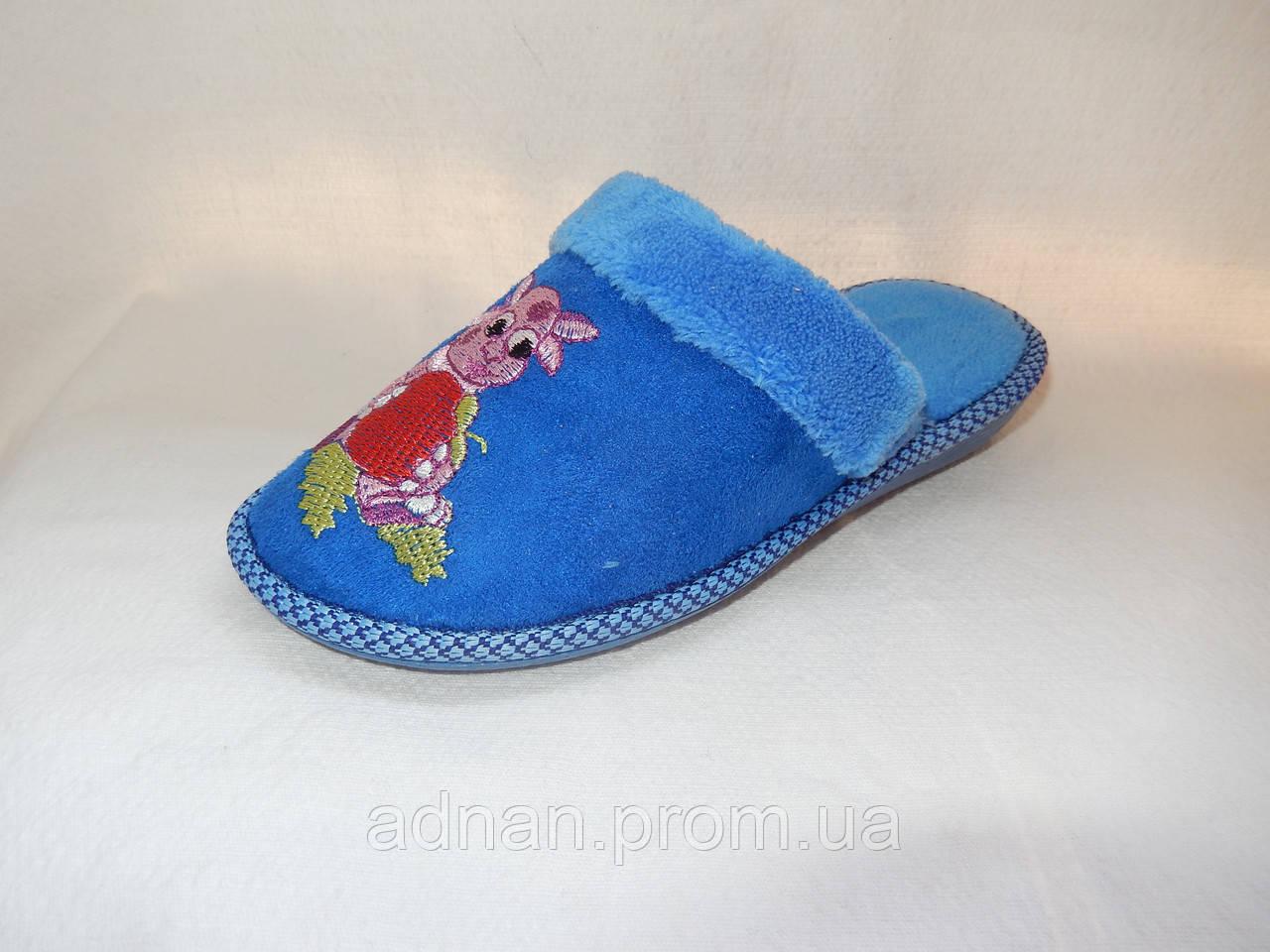 Тапочки детские, БЕЛСТА, 6 пар в упаковке, махра 002 Украина/ купить тапочки оптом