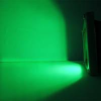 LED прожектор 10Вт, зеленый, фото 1