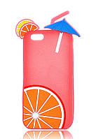 Чехол-накладка для iPhone 6 Disney коктейль