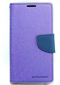 Чехол книжка для LG K10 K410 K430 боковой с отсеком для визиток, Mercury GOOSPERY Фиолетовый
