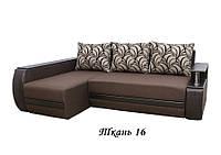 """Угловой диван """"Граф"""" ткань 16"""