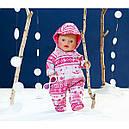Одежда для кукол Беби Борн Зимний комплект комбинезон с очками Baby Born Zapf Creation 821381, фото 2