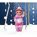 Одежда для кукол Беби Борн Зимний комплект комбинезон с очками Baby Born Zapf Creation 821381, фото 3