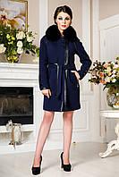 Женское стильное зимнее пальто (р. 44-54) арт. 852 Тон 354