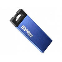 USB флешка SiliconPower Touch 835 8Gb Blue no chain metal ( SP008GBUF2835V3B ) без цепочки, фото 1