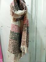 Красивый шерстяной шарф