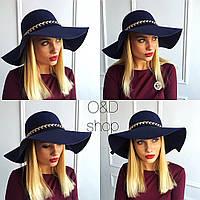Фетровая шляпка(разные цвет и фасоны)