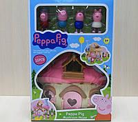 Веселый домик Свинка Пеппа и друзья, игровой набор для детей 3+