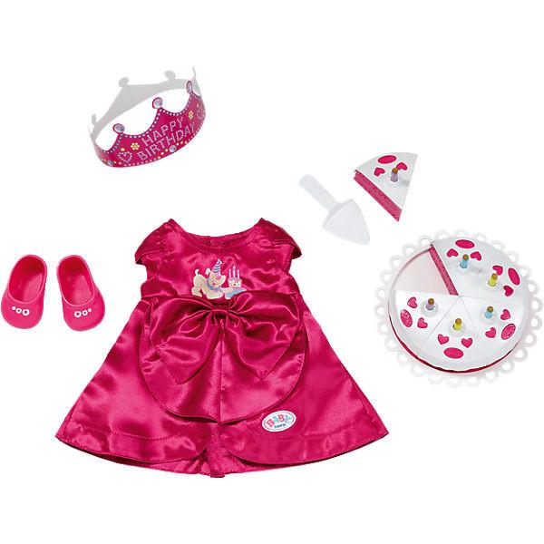 Одежда для кукол Беби Борн комплект для празднования День рождения Baby Born Zapf Creation 820681