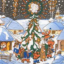 Салфетка для декупажа Різдво 6234