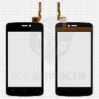 Сенсорный экран для мобильных телефонов Qumo Quest 401, Quest 402, черный, #ZXC040-010A1