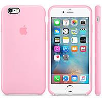 Чехол силиконовый для iPhone 6/ 6S розовый