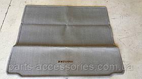 Toyota Sequoia 2008-13 складаний велюровий килимок в багажник сірий новий оригінальний