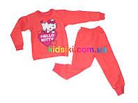Детская пижама для девочки Китти флисовая