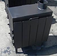 Буржуйка стальная         (обогрев до 40 м.кв.) КОЧЕРГА В ПОДАРОК, фото 1
