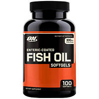 Optimum Nutrition Ненасыщенные жирные кислоты Optimum Nutrition Enteric-Coated Fish Oil, 100 капс.