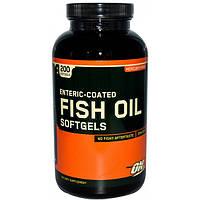 Optimum Nutrition Ненасыщенные жирные кислоты Optimum Nutrition Enteric-Coated Fish Oil, 200 капс.