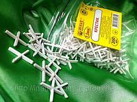 Крестики 1,5 мм для кафеля и плитки(200шт в упаковке)