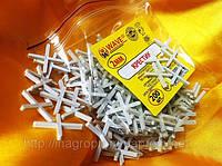 Крестики 2 мм для кафеля и плитки(200 шт в упаковке)